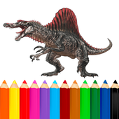 Coloring Dinosaurs New icon