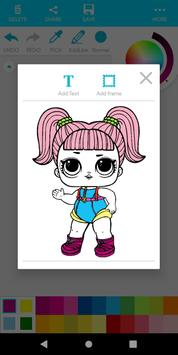 Coloring For Girls screenshot 6