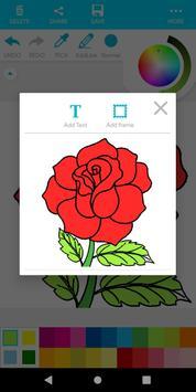 Coloring Flower screenshot 20