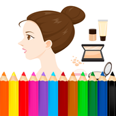 Coloring Makeup Beauty icon