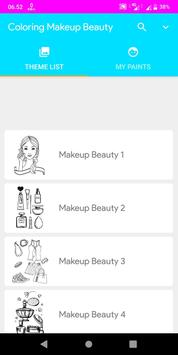 Coloring Makeup Beauty poster