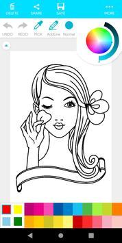 Coloring Makeup Beauty screenshot 10