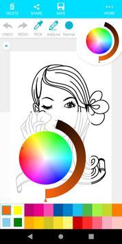 Coloring Makeup Beauty screenshot 18