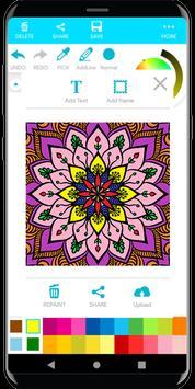 Coloring Mandala screenshot 14