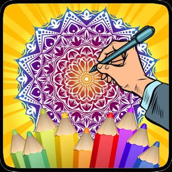 Coloring Mandala screenshot 16