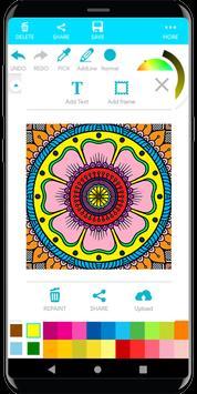 Coloring Mandala screenshot 19