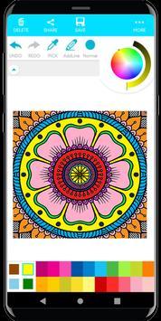Coloring Mandala screenshot 2