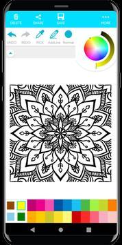 Coloring Mandala screenshot 4