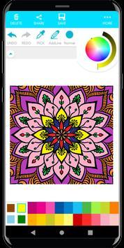 Coloring Mandala screenshot 5