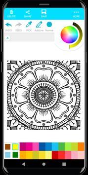Coloring Mandala screenshot 9