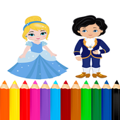 Coloring Prince And Princess icon