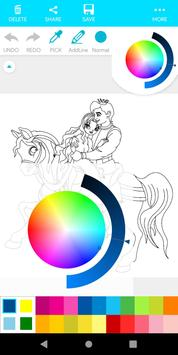 Coloring Prince And Princess screenshot 4