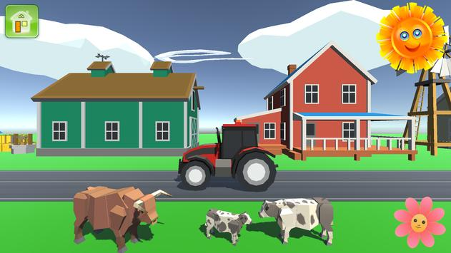 Baby Tractor Farm poster