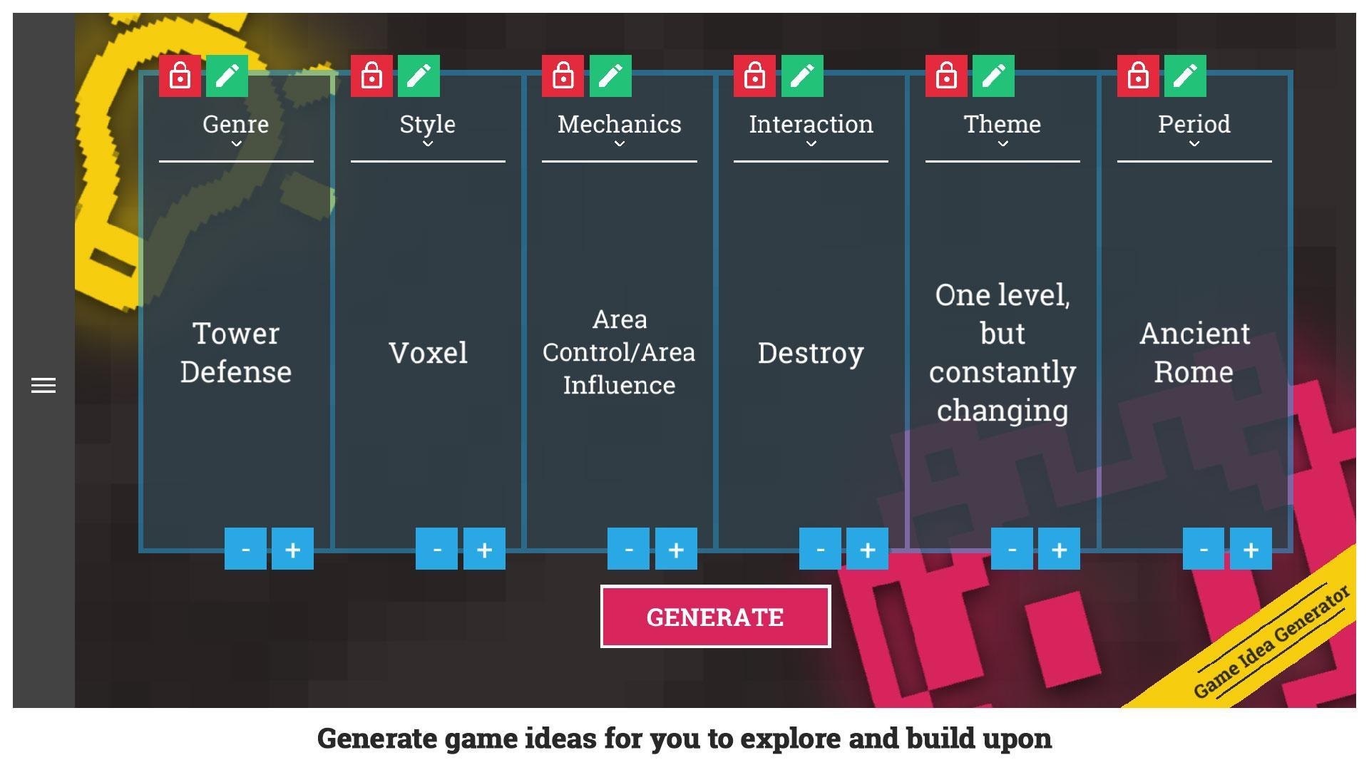 Awesome Game Idea Generator for Android - APK Download