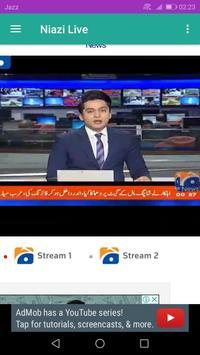 Niazi Live tv screenshot 3