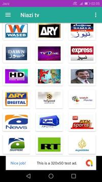Niazi Live tv poster