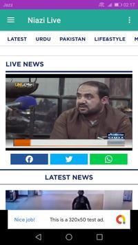 Niazi Live tv screenshot 2