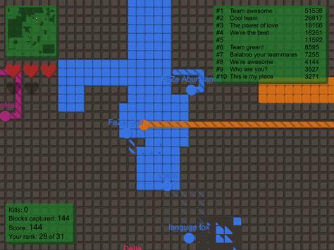 splix.io Ekran Görüntüsü 1