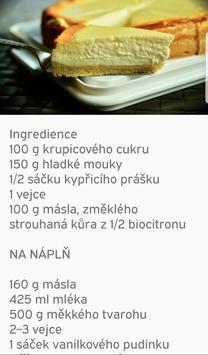recepty v češtině screenshot 1