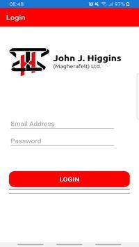 John J Higgins (Magherafelt) poster