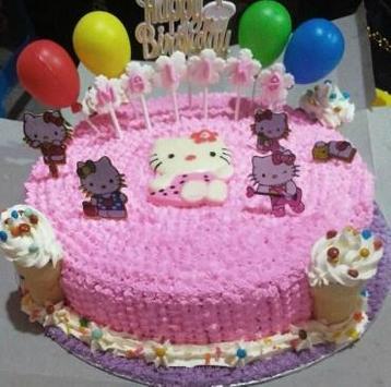 Latest Children's Birthday Cake poster