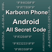Mobiles Secret Codes of KARBONN icon