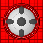 RED DOT-X icon