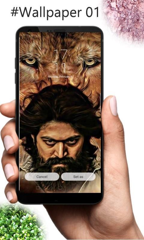 Wallpaper For Kgf Chapter 1 Rocky Yash For Android Apk