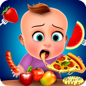 Hungry Baby - Tuto Kitchen icon