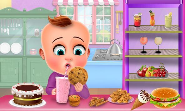 Hungry Baby - Tuto Kitchen screenshot 3