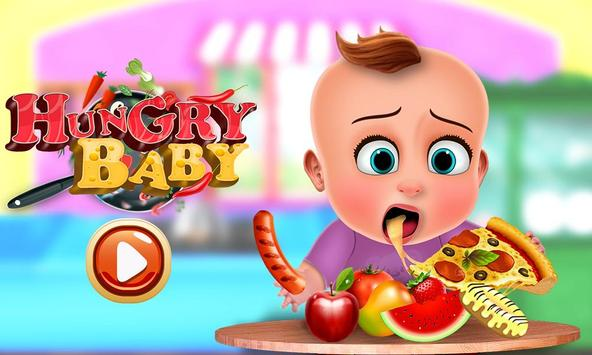 Hungry Baby - Tuto Kitchen poster