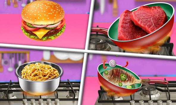 Hungry Baby - Tuto Kitchen screenshot 4