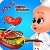 My Baby Tuto Chef - Little Baby Kitchen icon