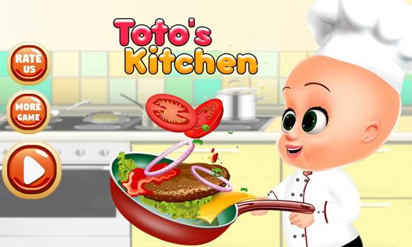 My Baby Tuto Chef - Little Baby Kitchen poster