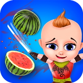 Little Baby Fruit Slice Farm - Free game icon