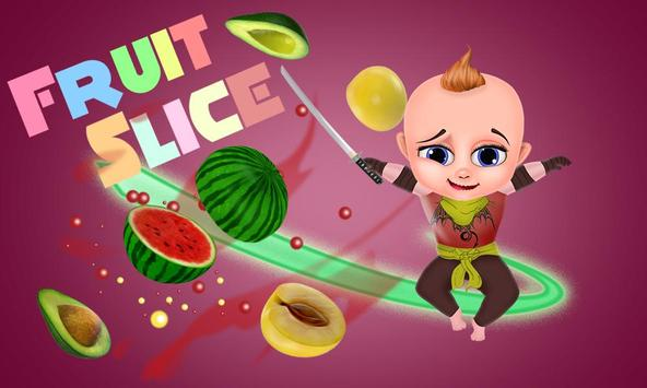 Little Baby Fruit Slice Farm - Free game poster