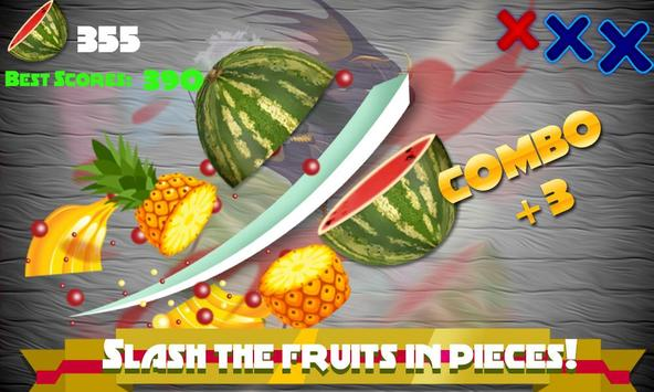 Little Baby Fruit Slice Farm - Free game screenshot 2