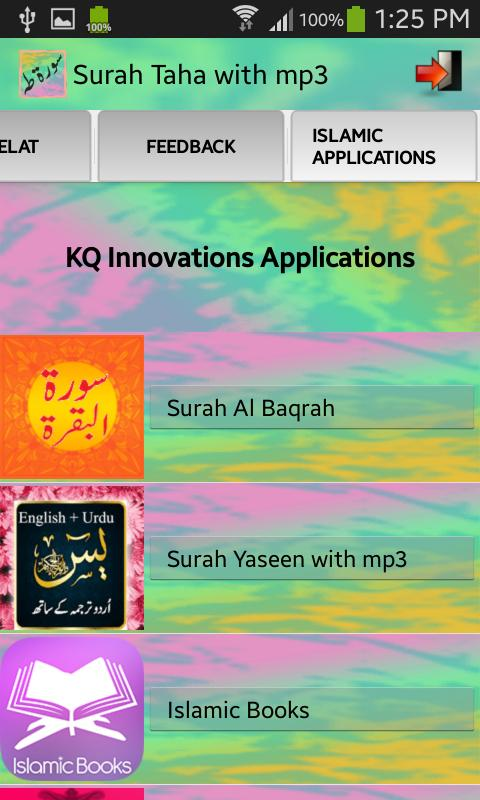 Surah Taha with mp3 for Android - APK Download