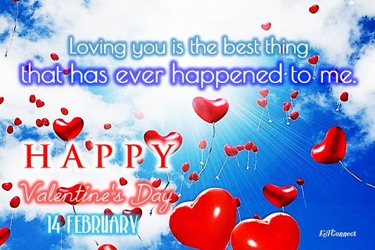 Happy Valentine's Day poster