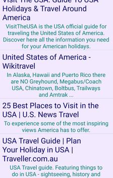 Travel USA screenshot 1