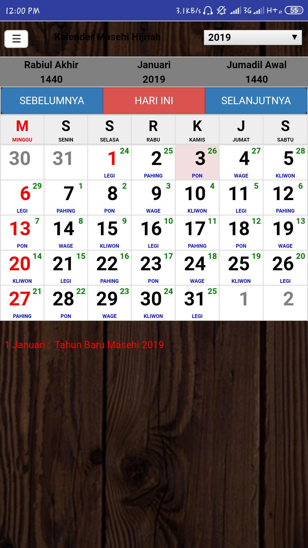 Kalender Jawa For Android Apk Download