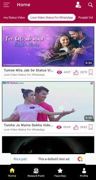 Free Video Status - Whats App Status, Love Status screenshot 3