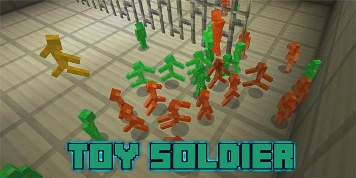 Toy Soldier Add-on for MCPE poster