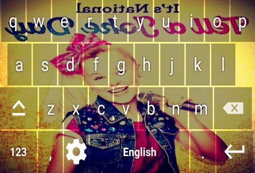 Jojo Siwa Keyboard Theme screenshot 2