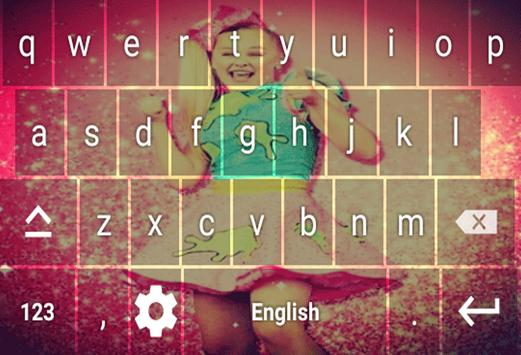 Jojo Siwa Keyboard Theme screenshot 3