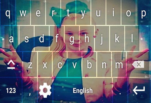 Jojo Siwa Keyboard Theme screenshot 7