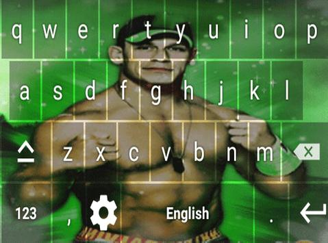 Keyboard For John Cena poster