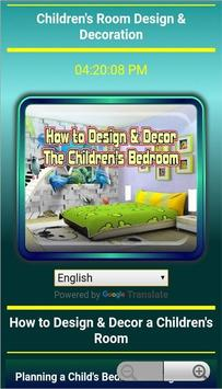 How to decorate a child's room screenshot 10