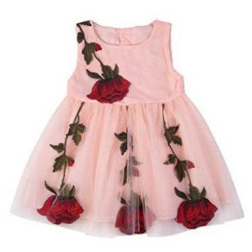 Kids Girl Clothes Design poster