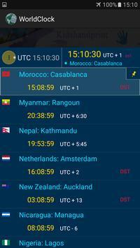 The  World Clock screenshot 3